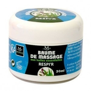 Baume de massage Respir - Mességué