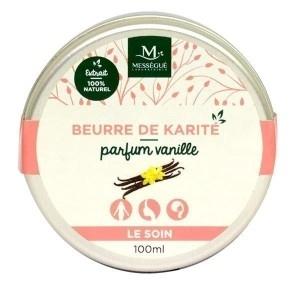 Beurre de karité Vanille - Mességué