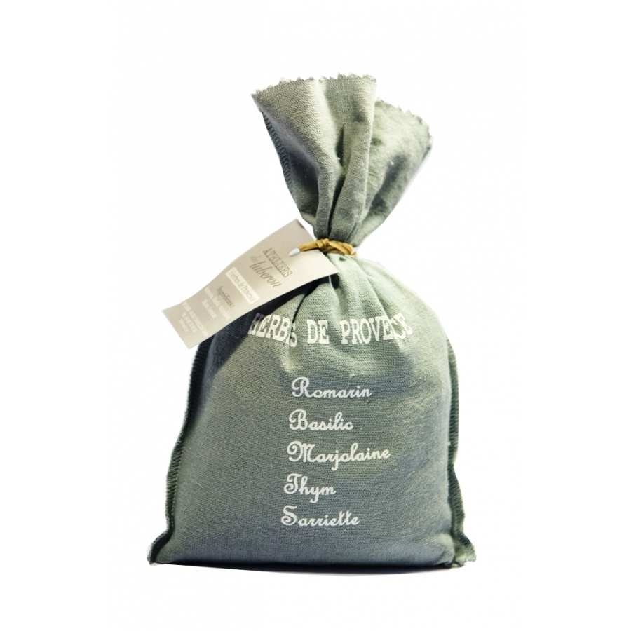 Herbes de Provence 100gr - Sac coton sérigraphié