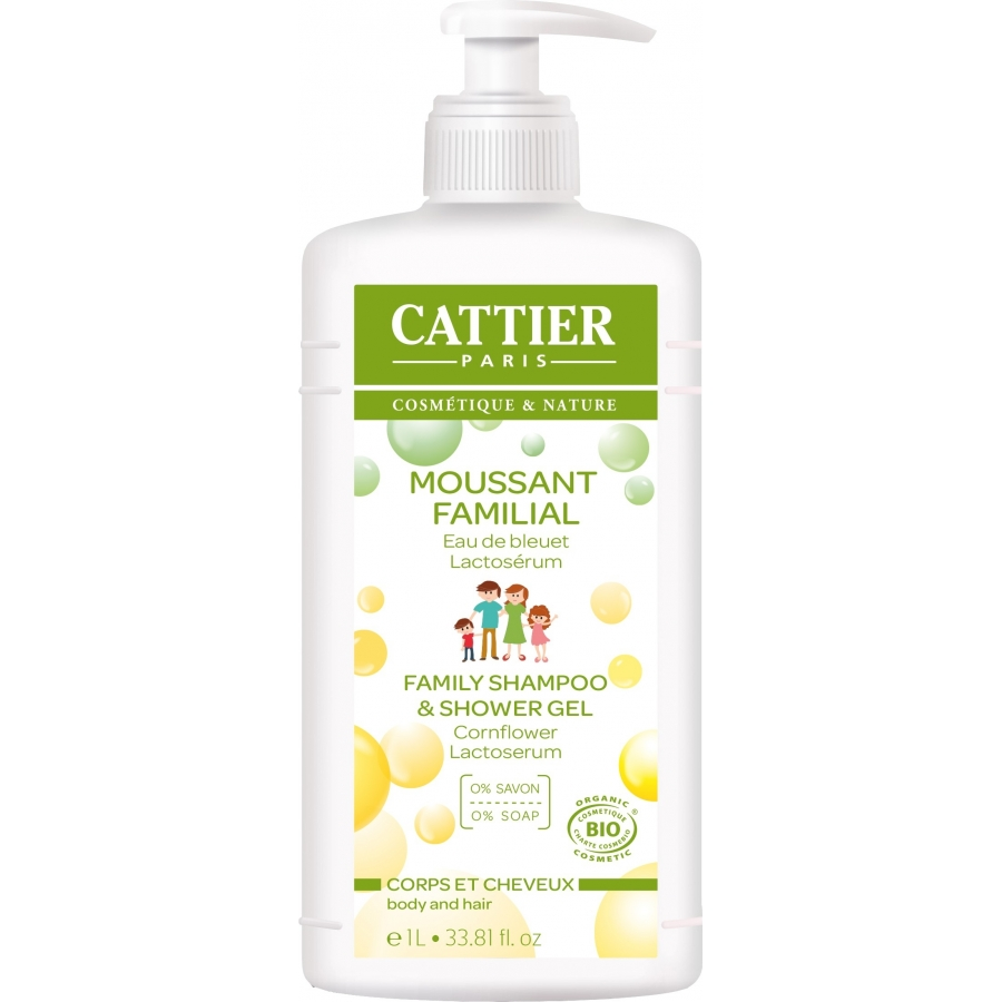 Moussant Familial Bio 500ml - Cattier