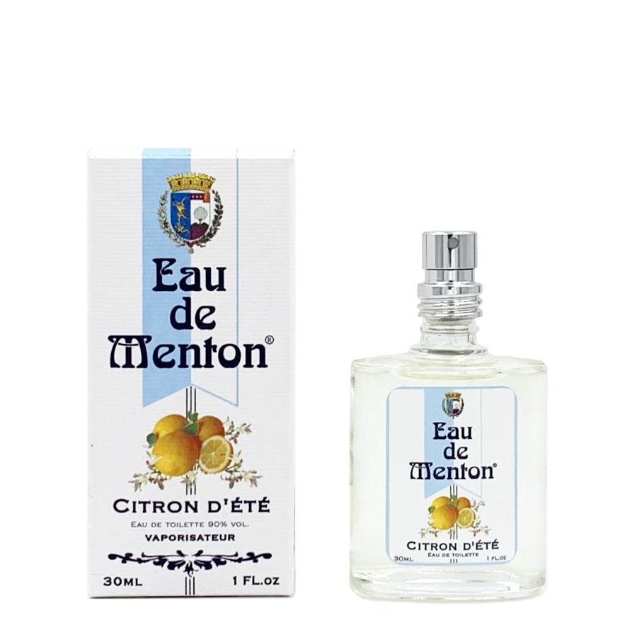 Eau de Menton Citron d'été 30ml