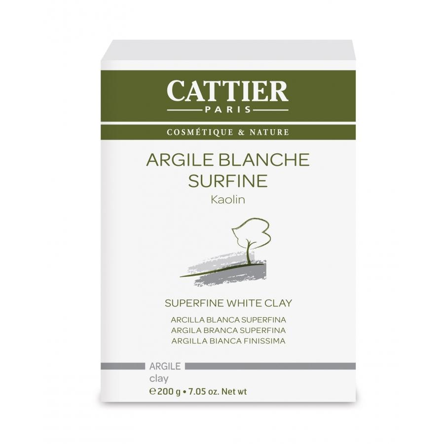 Argile blanche surfine - 200g - Cattier