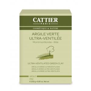 Argile verte ultraventilée - 250g - Cattier