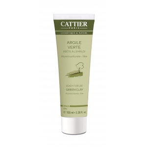 Argile verte - Tube 100ml - Cattier