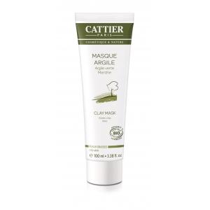 Masque argile Verte Bio - Cattier