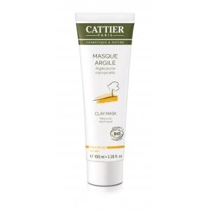 Masque argile jaune Bio - Cattier