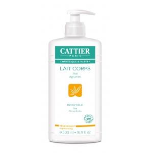 Lait Corps Thé et agrumes Bio 500ml - Cattier