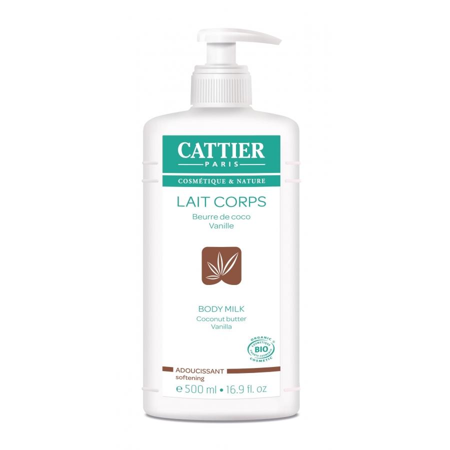 Lait Corps Adoucissant Coco Vanille - Cattier