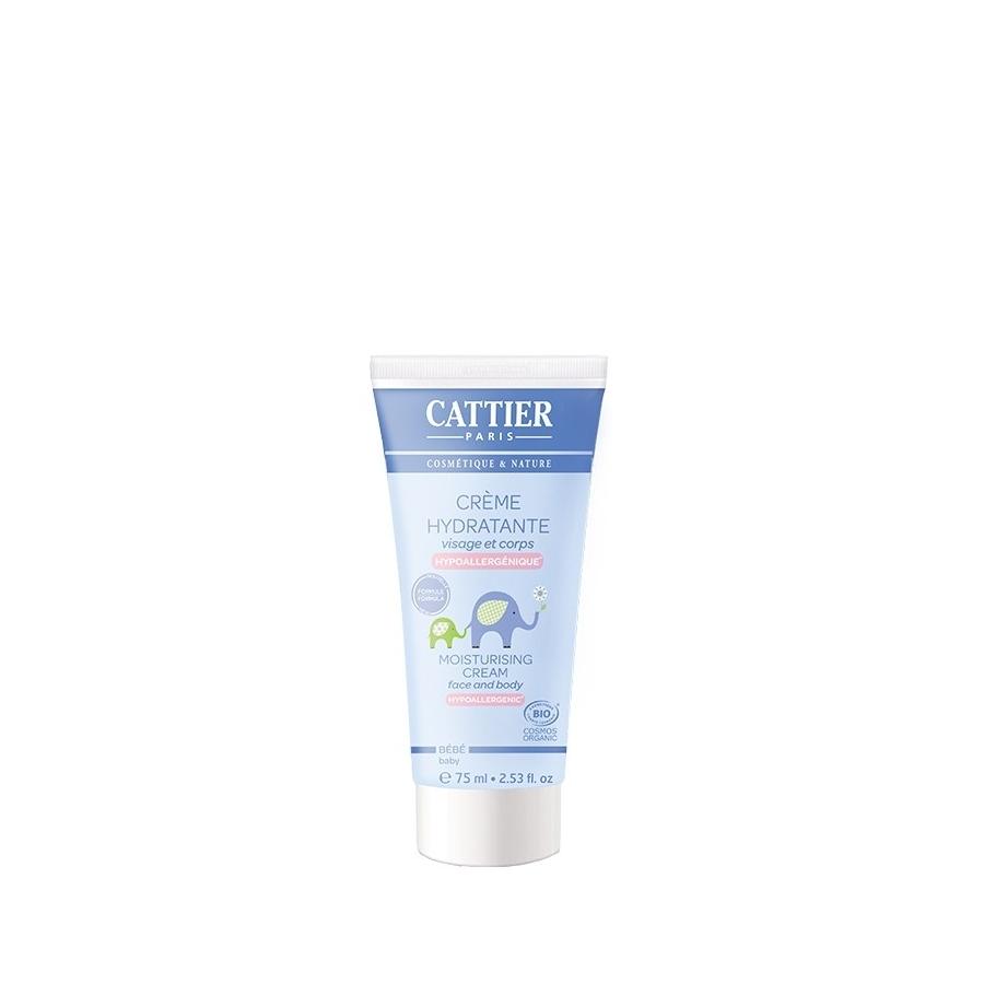 Crème hydratante Bébé Bio - 75ml - Cattier
