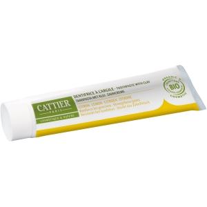 Dentifrice argile au citron Bio - Cattier