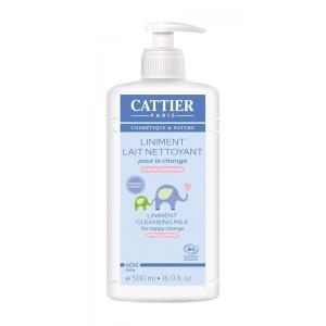 Liniment Lait nettoyant Bio Bébé - 500ml - Cattier