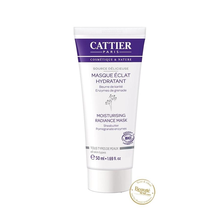 Masque Eclat Hydratant Bio - 50ml - Cattier